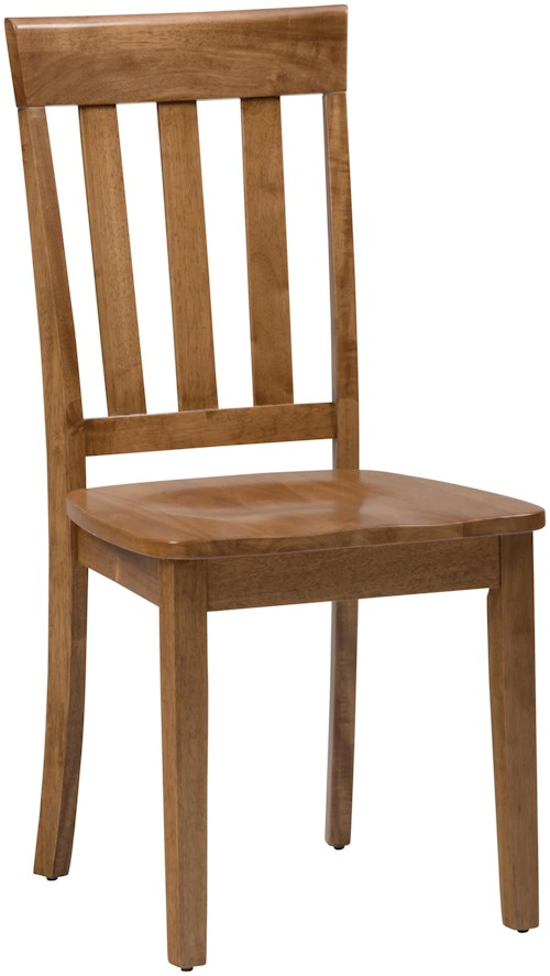 Jofran simplicity slat back side chair for table sets for Furniture 0 down