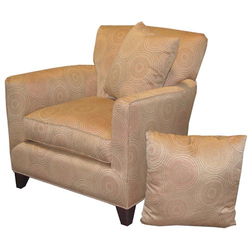 Jonathan Louis Choices Juno Smooth Line Accent Chair Conlin 39 S Furniture Upholstered Chairs