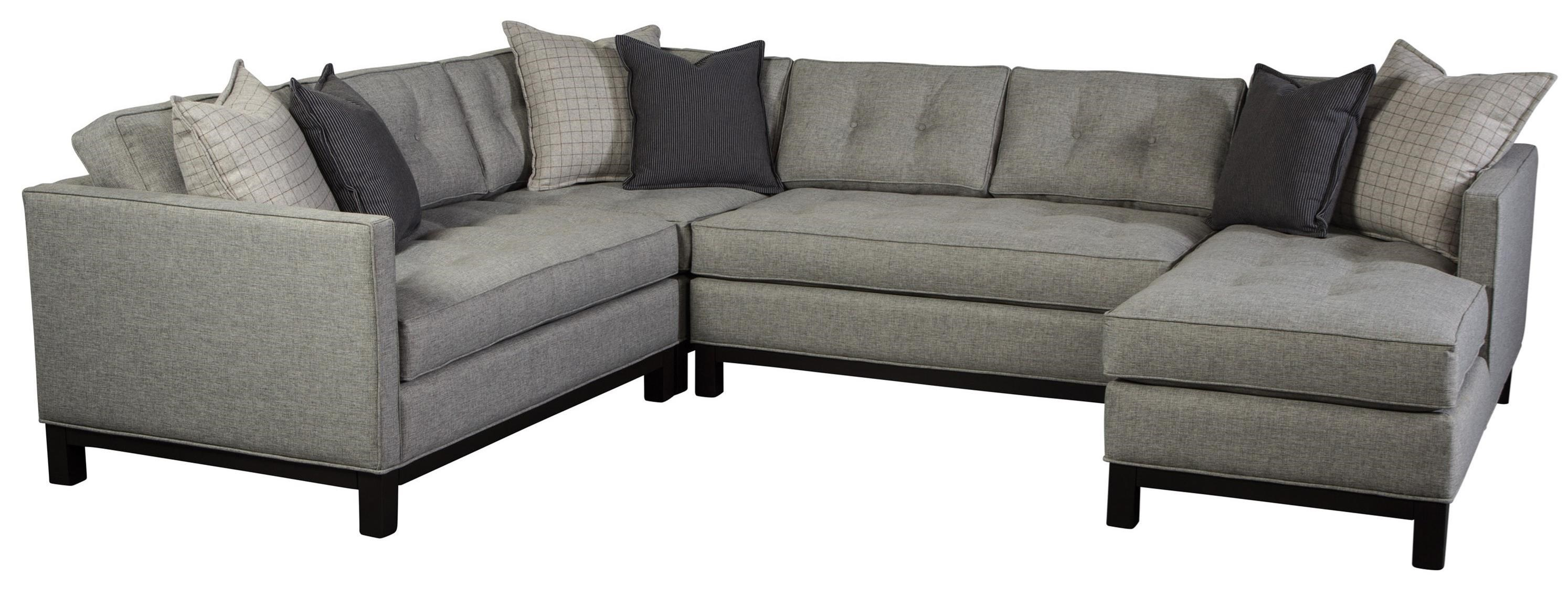 Jonathan Louis Goodwyn Contemporary Sectional Sofa with