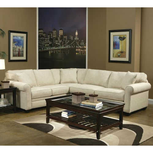 Jonathan Louis Marino 2 Piece Sectional Sofa Bennett 39 S Home Furnishings Sectional Sofas