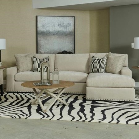 Customizable 3 Seat Sectional Sofa with Chaise