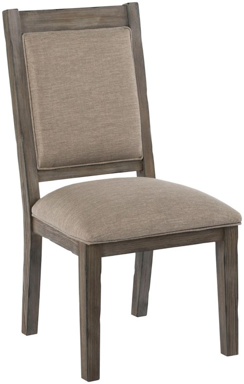 Kincaid furniture foundry 59 063 upholstered side chair for Furniture 0 percent financing