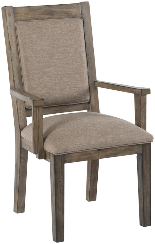Kincaid furniture foundry 59 064 upholstered arm chair for Furniture 0 percent financing