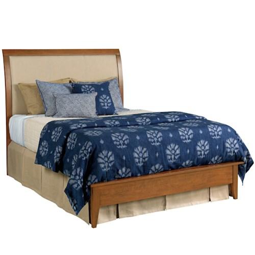 Kincaid Furniture Gatherings Queen Meridian Bed Belfort Furniture Upholstered Bed