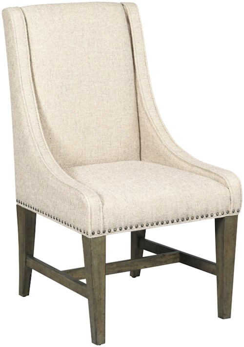 Kincaid furniture greyson 608 620 lawson host chair for Furniture 0 percent financing