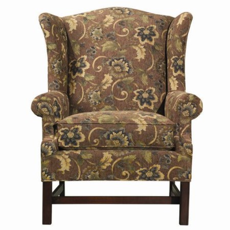 Upholstered Wing Accent Chair