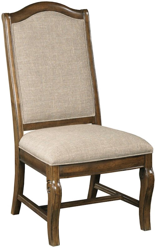 Kincaid furniture portolone 95 063 upholstered side chair for Furniture 0 percent financing