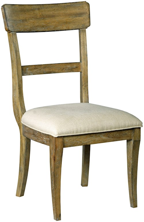 Kincaid furniture the nook 663 691 side chair w for Furniture 0 percent financing