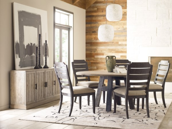casual dining room group stuckey furniture. Black Bedroom Furniture Sets. Home Design Ideas