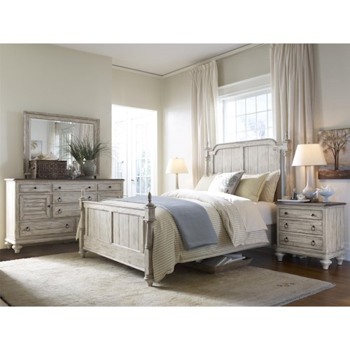 Kincaid furniture weatherford queen bedroom group 1 for Bedroom furniture groups