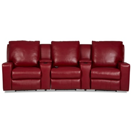 3-Seat Theater Seating Group