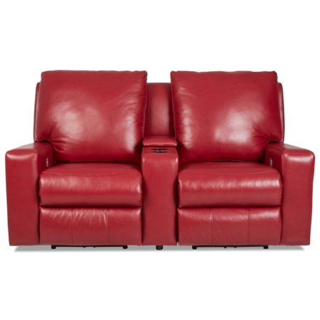 Power Reclining Sectional w/ Power Headrests & Lumbar