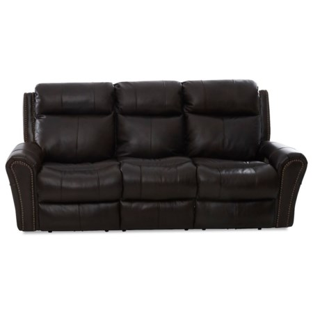 Power Reclining Sofa with Power Headrests and XMS Massage w/ Heat Therapy