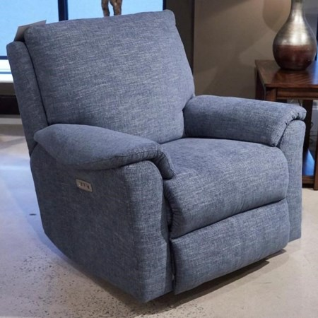 Power Rocking Reclining Chair w/ Power Headrest XMS Massage with Heat Therapy