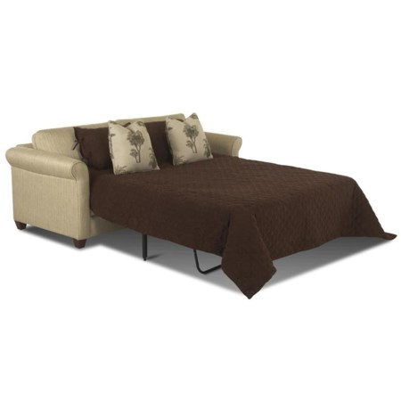 Queen Sleeper Sofa with Inner Spring Mattress