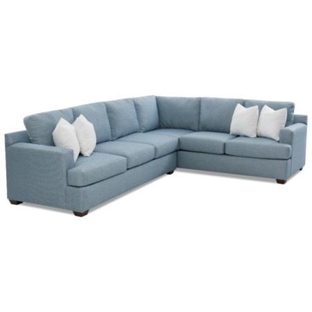 5-Seat Sectional Sofa with RAF Corner Sofa