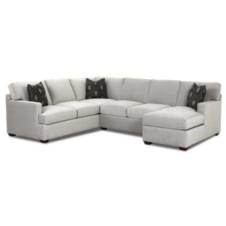 Sectional Sofa Group with Chaise Lounge