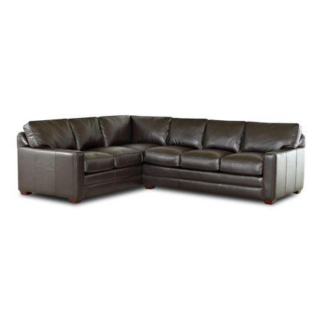 2 Piece Sectional Sofa with LAF Corner Sofa