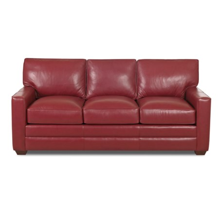Enso Memory Foam Sleeper Sofa with Track Arms