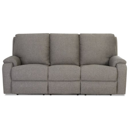 Casual Power Reclining Sofa w/ USB Ports