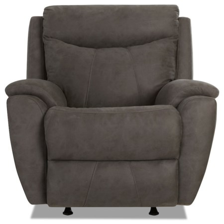 Casual Power Rocking Reclining Chair with Power Headrest & USB Port