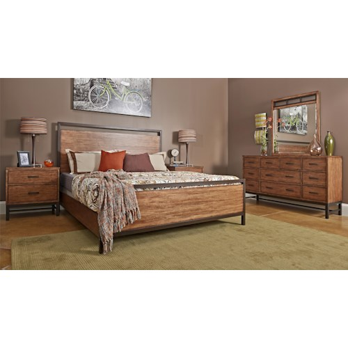 Affinity king bedroom group belfort furniture bedroom for Bedroom furniture groups