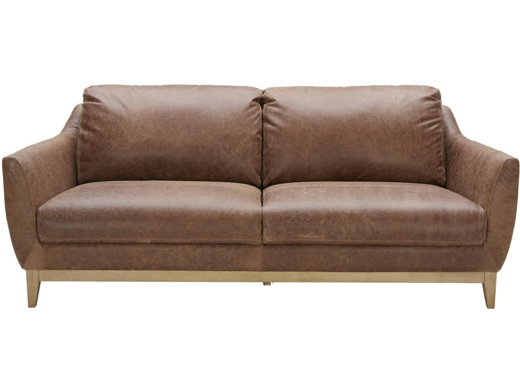 Popular 180 list modern leather couch for Mid century modern furniture orlando