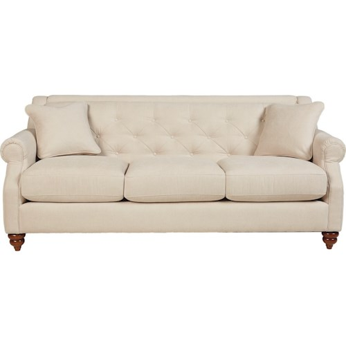 La z boy aberdeen traditional sofa with tufted seatback for All american furniture and mattress aberdeen nc
