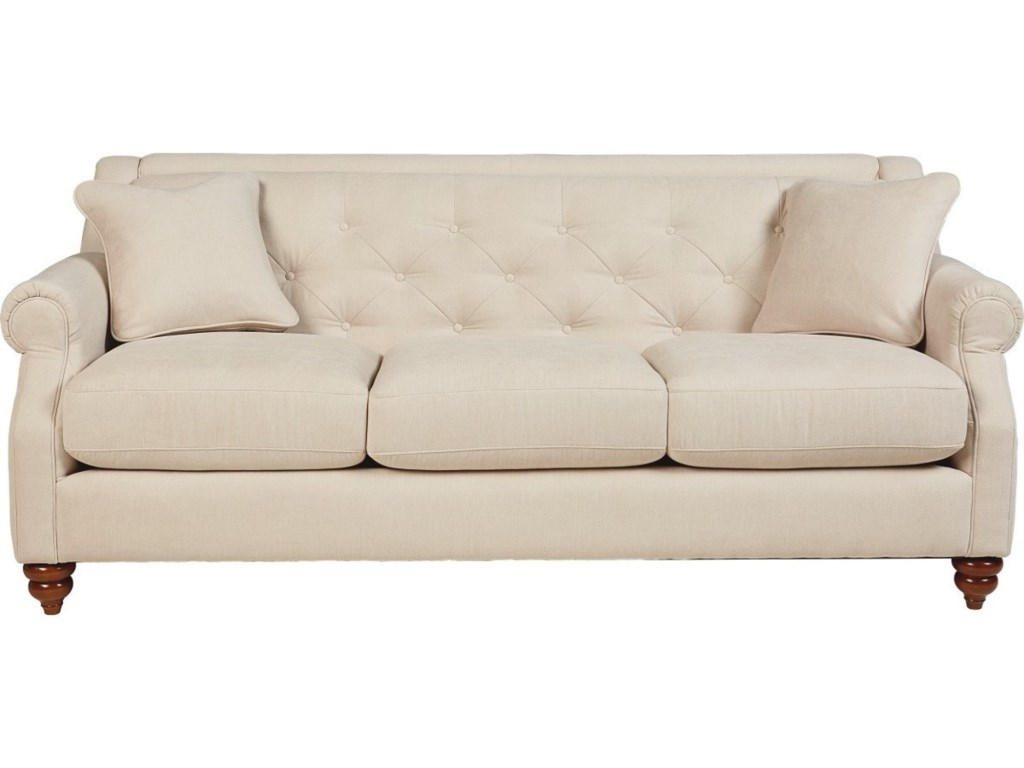 Cheap leather sofas aberdeen refil sofa for Traditional tufted leather sofa