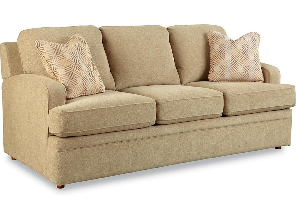 La z boy sleeper sofa la z boy natalie loveseat harris for Comfortable family sofa