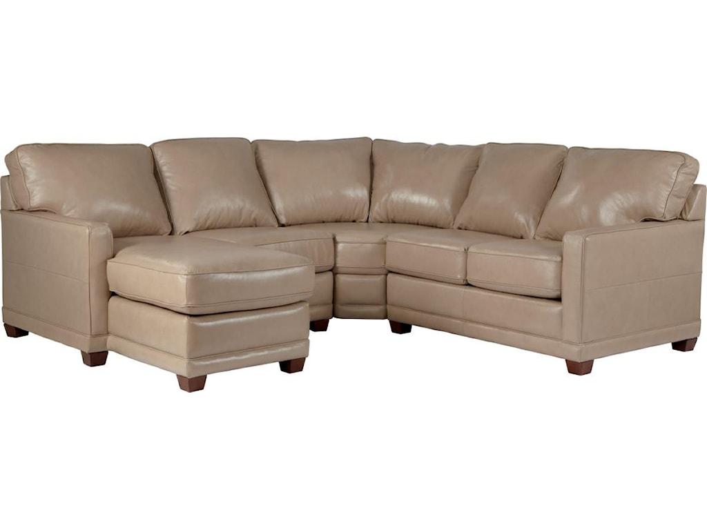La z boy sectional sofa la z boy collins sectional home for Lazy boy collins sectional sofa