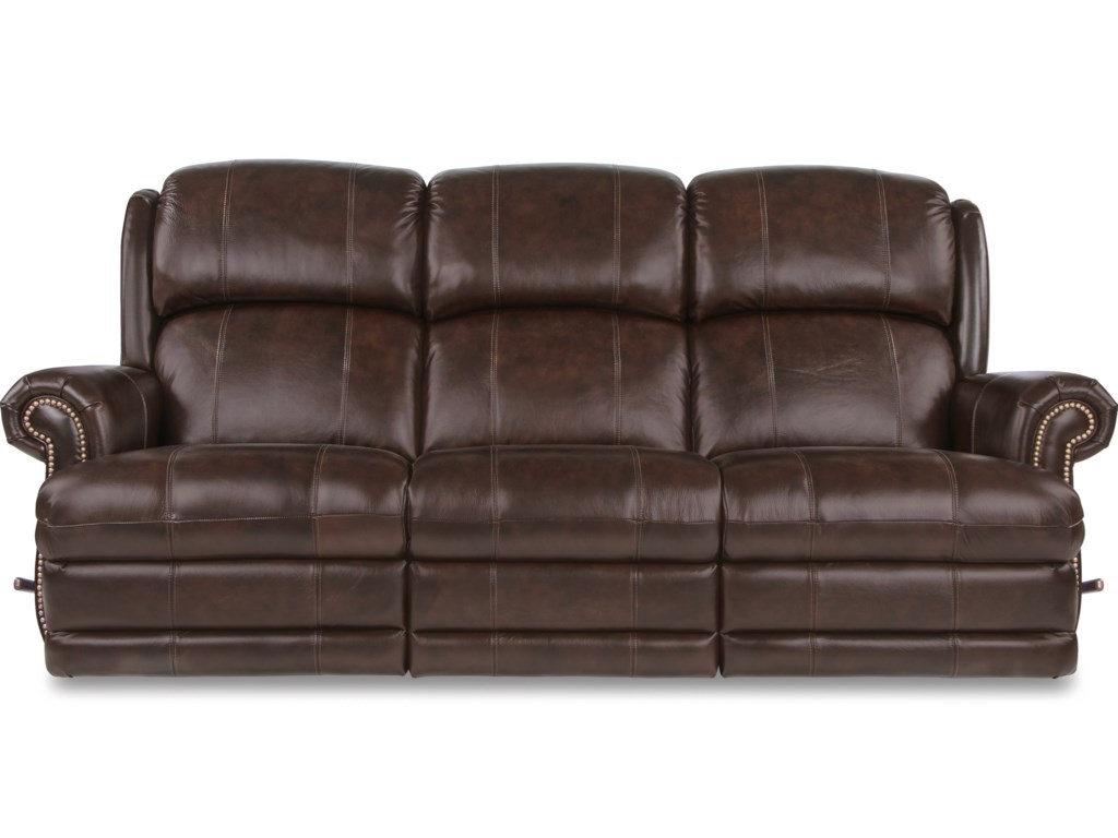 Traditional reclining sofa justice furniture at for Traditional sofa