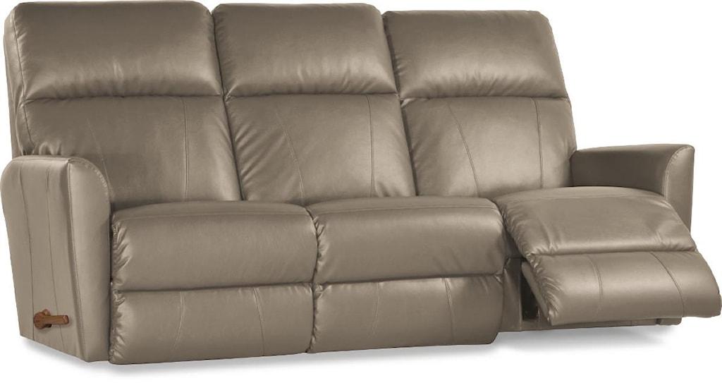 La Z Boy Leather Reclining Sofa La Z Time Full Reclining