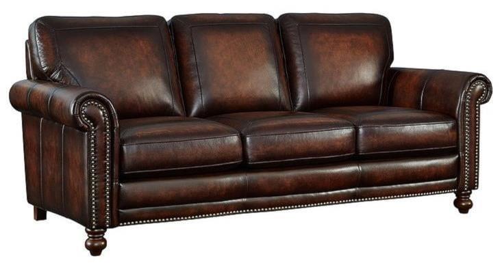 sofa usa usa premium leather 3635 track arm sofa chaise sectional w block thesofa. Black Bedroom Furniture Sets. Home Design Ideas
