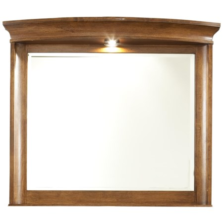 Lighted Landscape Dresser Mirror