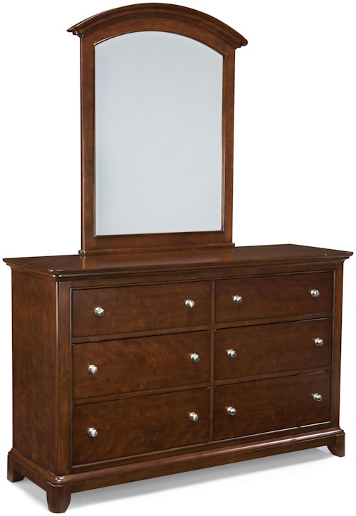 Legacy classic kids impressions 6 drawer dresser and for Furniture 0 down
