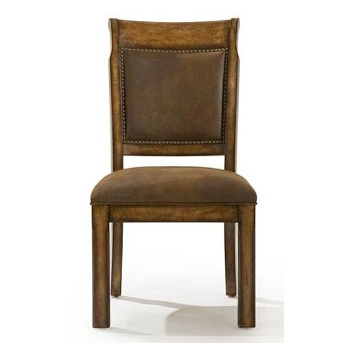 Legacy classic larkspur upholstered back side chair for Legacy classic dining room furniture