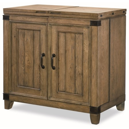 Bar Cabinet  with Felt Lined Drawers