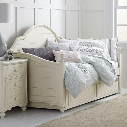 Legacy classic kids summerset panel daybed with trundle for Classic house day bed