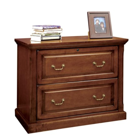 Two Drawer Locking Lateral File Cabinet
