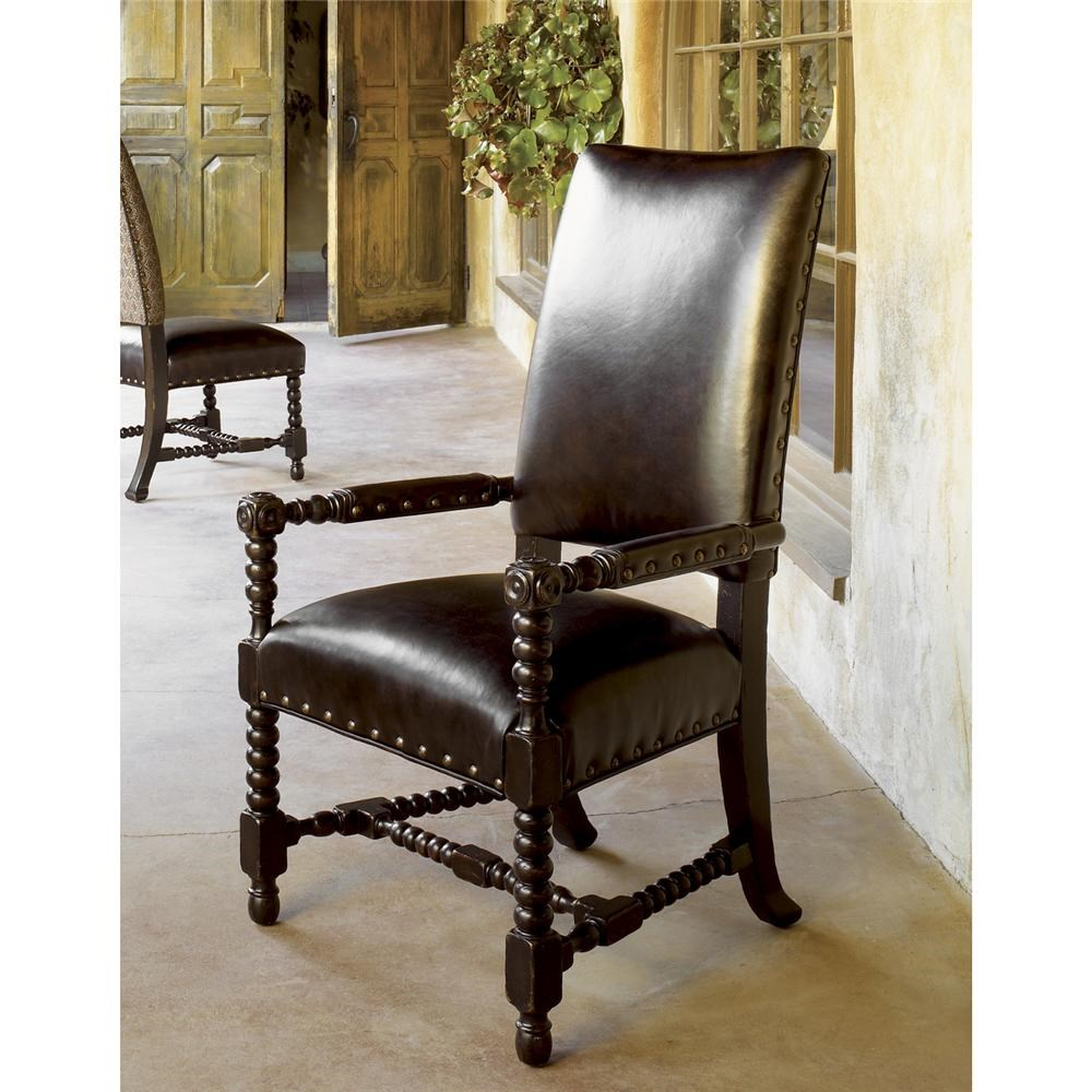 Tommy Bahama Home Kingstown Edwards Arm Chair with Padded