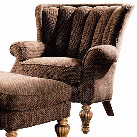 Tolbert Channel Back Upholstered Chair