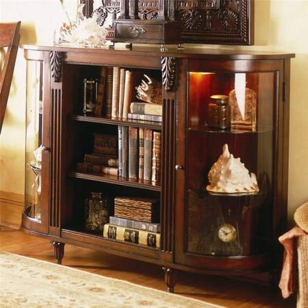 Bookcase with Lighted Interior
