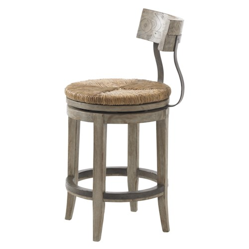 Lexington twilight bay dalton counter stool sprintz furniture bar stools nashville franklin Home bar furniture nashville tn