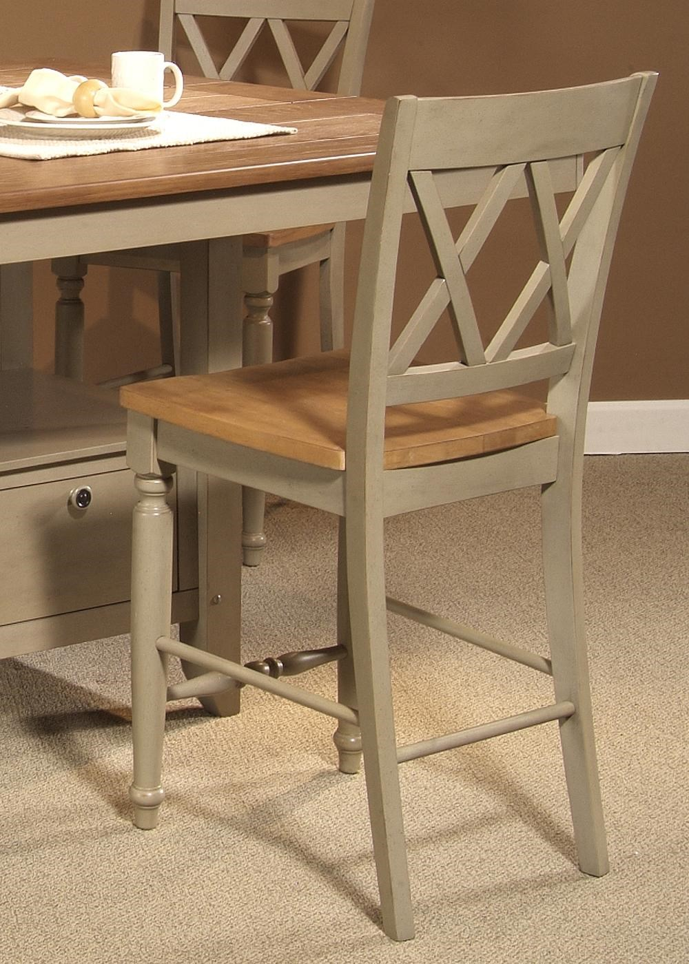 Liberty Furniture Al Fresco Counter Chair with Double X