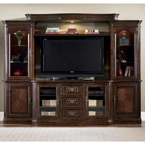 Liberty Furniture Andalusia Entertainment Center Wall Unit Pilgrim Furniture City Wall Unit