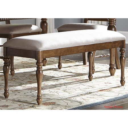 Cottage Style Dining Bench