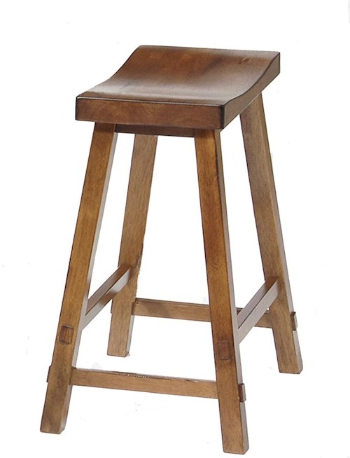 Liberty furniture creations ii 24 inch sawhorse barstool for Dining room tables 38 inches wide