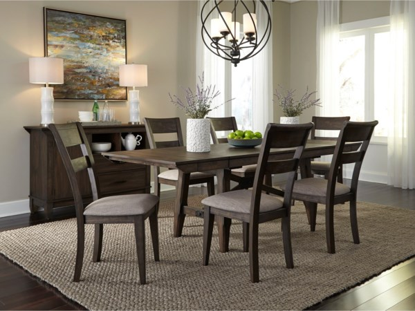 casual dining room group ohio youngstown cleveland. Black Bedroom Furniture Sets. Home Design Ideas