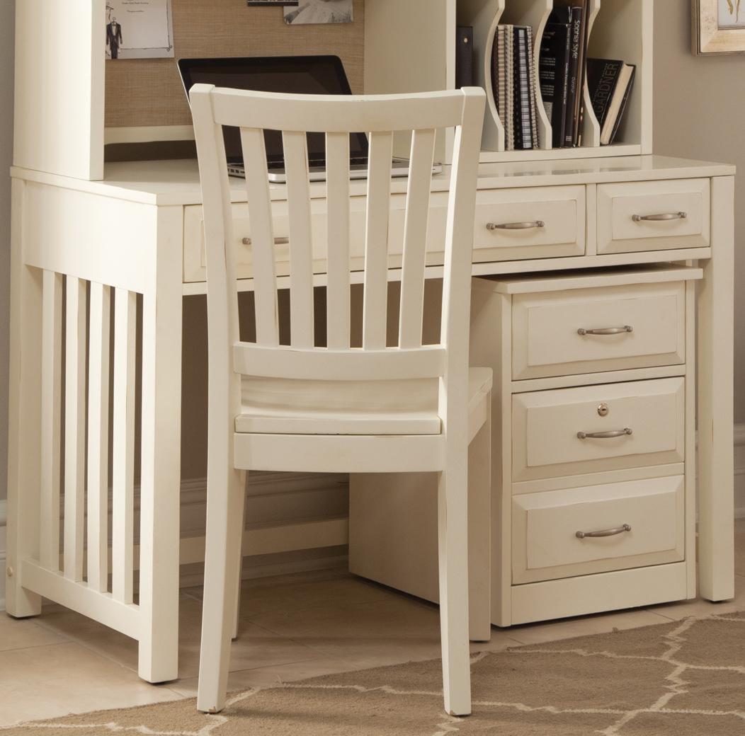 Liberty Furniture Hampton Bay White Writing Desk With